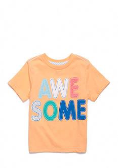 J. Khaki Short Sleeve Novelty Crew Toddler Boys