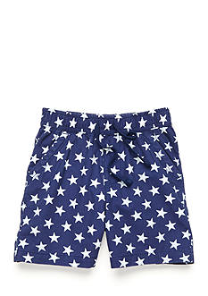 J. Khaki Pull On Star Print Short Toddler Boys