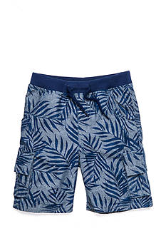 J. Khaki Printed Cargo Short Toddler Boys