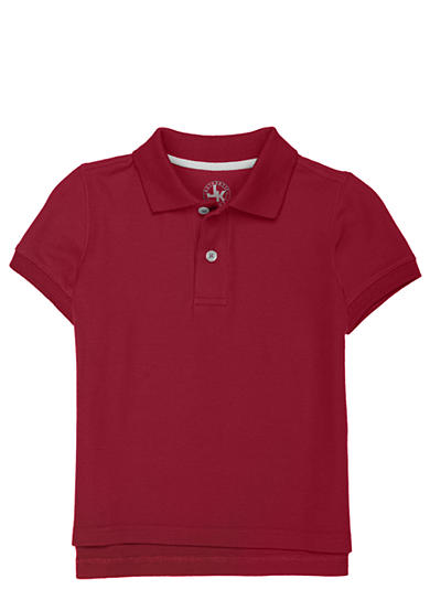J. Khaki® Solid Basic Pique Polo Toddler Boy