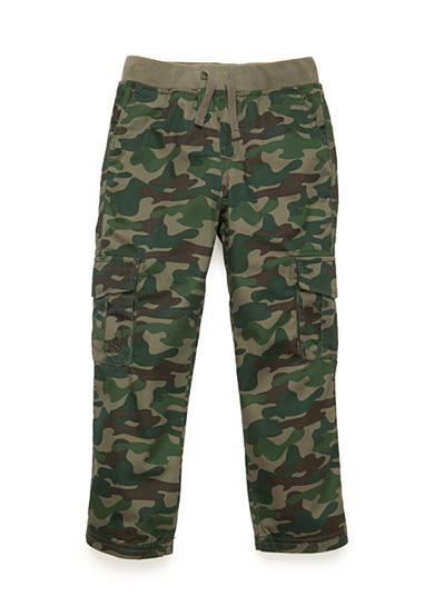 J. Khaki® Pull-On Camo Cargo Pants Toddler Boys