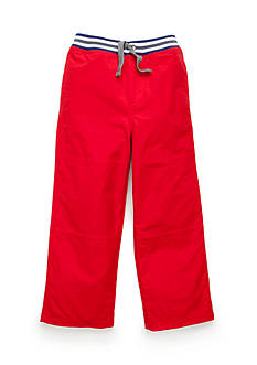 J. Khaki Microfiber Active Pants Toddler Boys