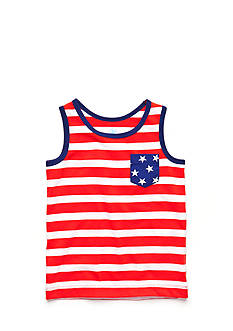 J Khaki™ Stripe Tank Top Toddler Boys