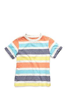 J. Khaki Stripe Tee Toddler Boys