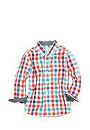 J. Khaki® Plaid Woven Shirt Toddler Boys