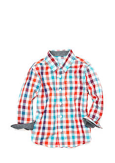J Khaki™ Plaid Woven Shirt Toddler Boys