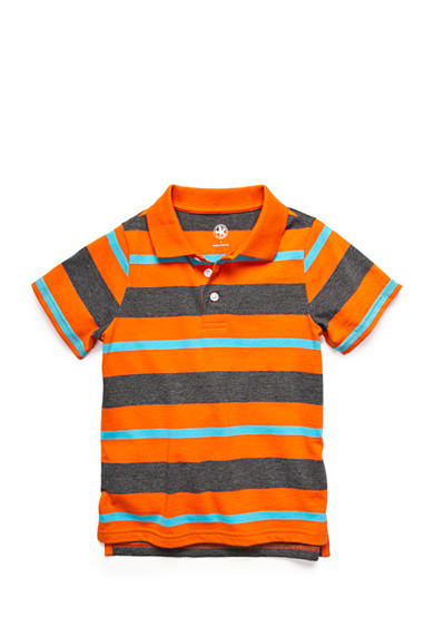 J. Khaki® Stripe Polo Toddler Boys