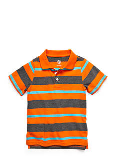 J Khaki™ Stripe Polo Toddler Boys