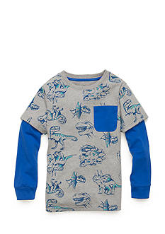 J. Khaki® Novelty Crew 2Fer Toddler Boys