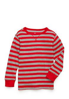 J. Khaki Stripe Thermal Shirt Toddler Boys