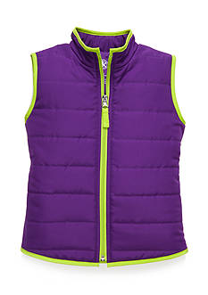J Khaki™ Puffer Vest Toddler Girls