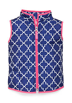 Trellis Puffer Vest Toddler Girls
