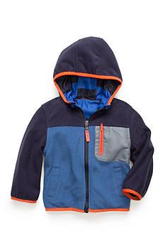OshKosh B'gosh Reversible Color Block Fleece Jacket