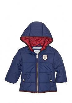 Carter's Navy Puffer Coat Infant Boys