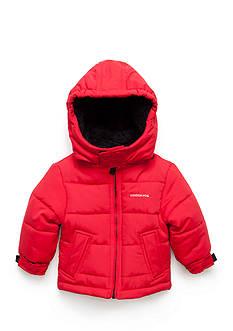 London Fog Solid Puffer Jacket
