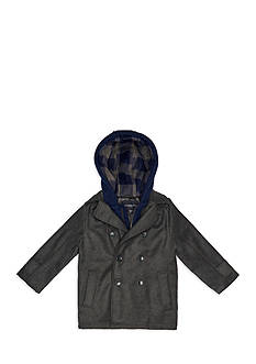 London Fog® Wool Peacoat Boys 4-7
