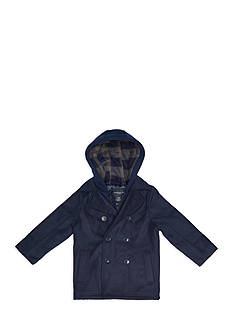 London Fog Wool Peacoat Toddler Boys