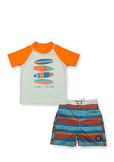 OshKosh B'gosh 2-Piece Surf Team Rashguard Set Toddler Boys