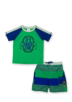OshKosh B'gosh 2-Piece Snack Time Rashguard Set Toddler Boys