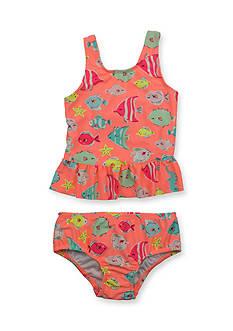 Carter's 2-Piece Fish Swimsuit Toddler Girls