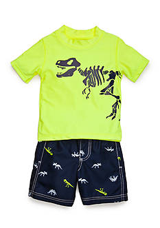 Carter's® 2-Piece Dino Swim Set Toddler Boys