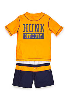 Carter's® 2-Piece Hunk Swim Set Toddler Boys