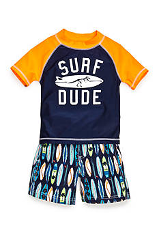 Carter's® 2-Piece 'Surf Dude' Swim Set Toddler Boys