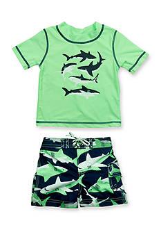 Carter's 2-Piece Shark Rashguard Set Toddler Boys