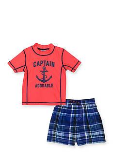 Carter's 2-Piece Captain Adorable Rashguard Set Toddler Boys
