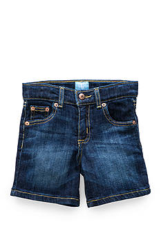 J. Khaki Flat-Front Stretch Short Toddler Boys