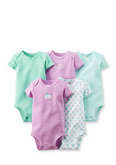 Carter's® 5-Pack Short Sleeve Assorted Bodysuits