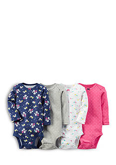 Carter's® 4-Pack Assorted Printed Bodysuits