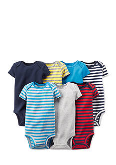 Carter's® 7-Pack Short Sleeve Assorted Bodysuits