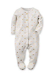 Carter's® Foil Heart Print Sleep and Play