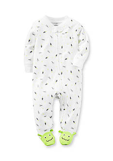 Carter's Alien Cotton Zip-Up Sleep & Play