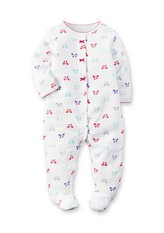Carter's Fleece Bow Snap-Up Sleep & Play
