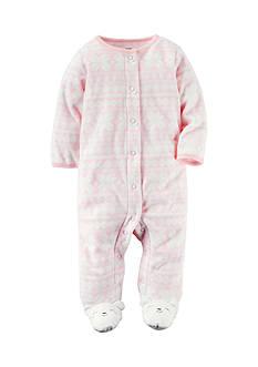 Carter's Fleece Snap-Up Sleep & Play Footed Pajamas