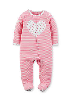 Carter's Heart Cotton Snap-Up Sleep & Play