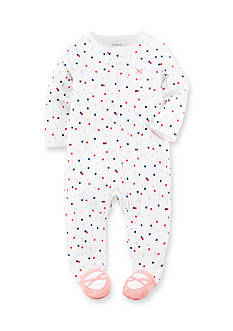 Carter's Polka Dot Cotton Snap-Up Sleep & Play