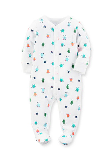 Carter's® Little Monsters Cotton Snap-Up Sleep & Play