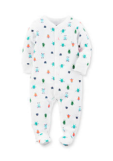 Carter's Little Monsters Cotton Snap-Up Sleep & Play