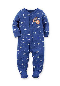 Carter's Rocket Cotton Snap-Up Sleep & Play 1-piece
