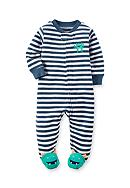 Carter's® Terry Zip-Up Footed Sleep And Play