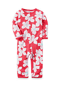 Carter's Floral Zip-Up Sleep & Play