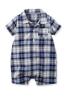 Carter's® Plaid Romper