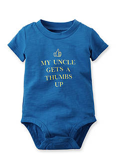 Carter's® 'Uncle Thumbs Up' Bodysuit