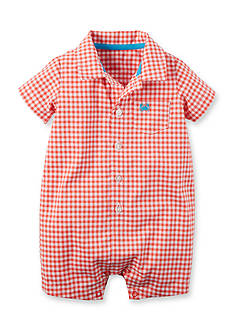 Carter's® Check Romper