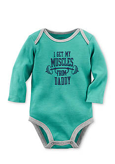 Carter's® Muscles From Daddy Collectible Bodysuit