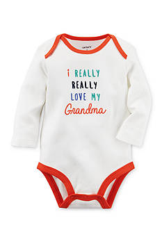 Carter's® I Really Love My Grandma Collectible Bodysuit