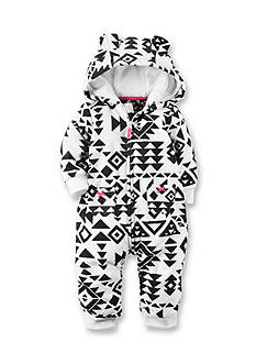 Carter's® Hooded Fleece Jumpsuit